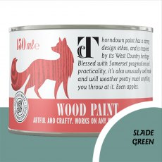 Thorndown Wood Paint 150ml - Slade Green - Pot shot