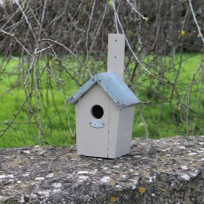 Thorndown Wood Paint 750ml- Tor Stone - Painted on bird box