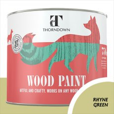 Thorndown Wood Paint 750ml - Rhyne Green - Pot shot
