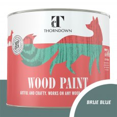 Thorndown Wood Paint 750ml - Brue Blue - Pot shot