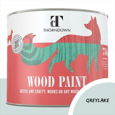 Thorndown Wood Paint 750ml - Greylake - Pot shot