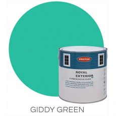 Protek Royal Exterior Paint 2.5 Litres - Giddy Green