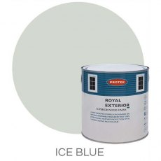Protek Royal Exterior Paint 2.5 Litres - Ice Blue