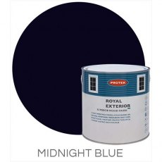 Protek Royal Exterior Paint 2.5 Litres - Midnight Blue