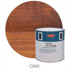 Protek Royal Exterior Paint 2.5 Litres - Oak