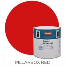 Protek Royal Exterior Paint 2.5 Litres - Pillarbox Red