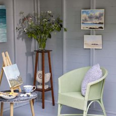Protek Royal Exterior Paint - Pond Green lifestyle on chair