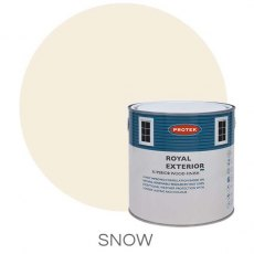 Protek Royal Exterior Paint 2.5 Litres - Snow