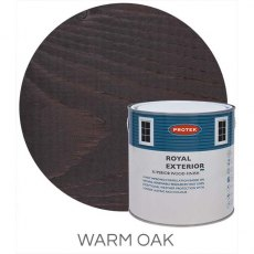 Protek Royal Exterior Paint 2.5 Litres - Warm Oak