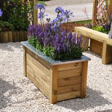 Forest Cambridhe Planter 100 x 50 - in situ