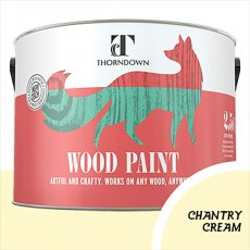 Thorndown Wood Paint 2.5 Litres - Chantry Cream - Pot shot