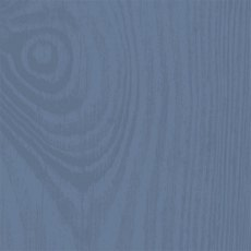 Thorndown Wood Paint 150ml - Peregrine Blue - Grain Swatch