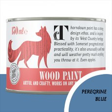 Thorndown Wood Paint 150ml - Peregrine Blue - Pot shot
