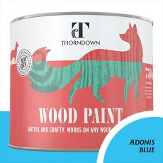 Thorndown Wood Paint 750ml - Adonis Blue - Pot shot