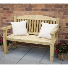 4ft (1.2m) Forest Harvington Bench - Pressure Treated