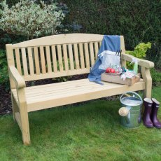 5ft (1.5m) Forest Harvington Bench - Pressure Treated