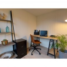 8x9 Forest Xtend 2.5 Insulated Garden Office - use as a home office
