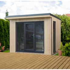 10 x 9 (2.98m x 2.90m) Forest Xtend 3.0 Insulated Garden Office