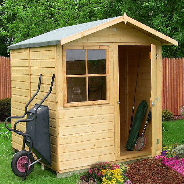 Shire Abri Apex Garden Shed