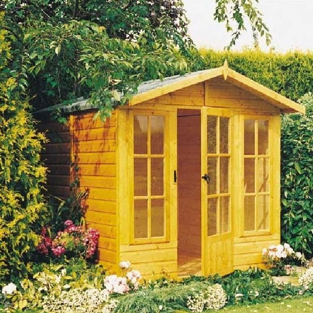 Shire 7 x 7 (1.98m x 2.05m) Shire Chatsworth Summerhouse