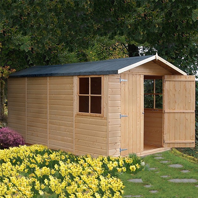 13 x 7 (3.96m x 2.05m) Shire Jersey Apex Shed