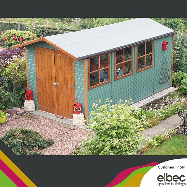13 x 7 (3.96m x 2.05m) Shire Jersey Apex Shed - customer image