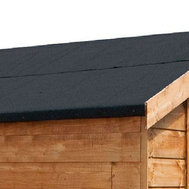 Mercia 7 x 5 (2.23m x 1.65m) Mercia Premium Shiplap Shed with Single Door - Pressure Treated