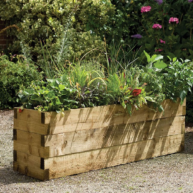 Forest Garden 6 x 2 (1800mm x 450mm) Caledonian Raised Bed