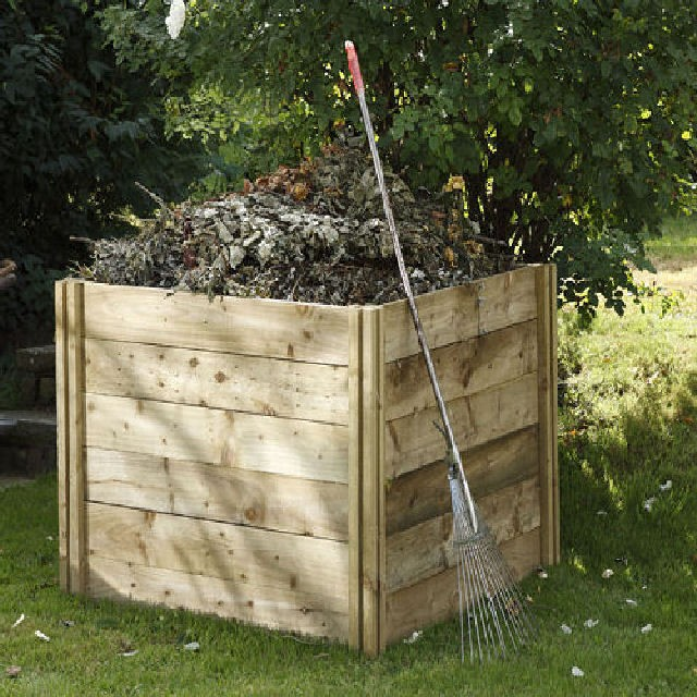 Forest Garden 4 x 4 (1060mm x 1060mm) Slot Down Composter