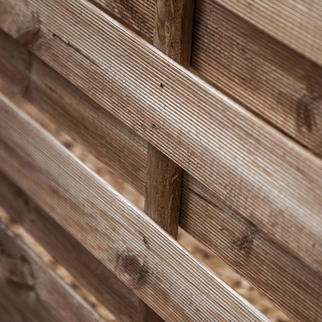 6ft High Mercia Newark Pressure Treated Fence Panels with Integrated Trellis