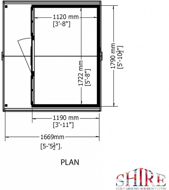 Shire Cubby Playhouse - Base plan