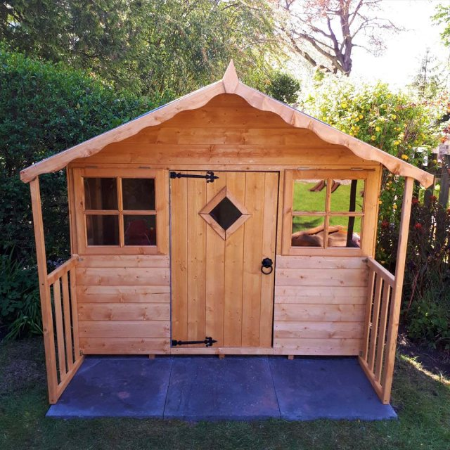 Shire Cubby Playhouse - Unpainted