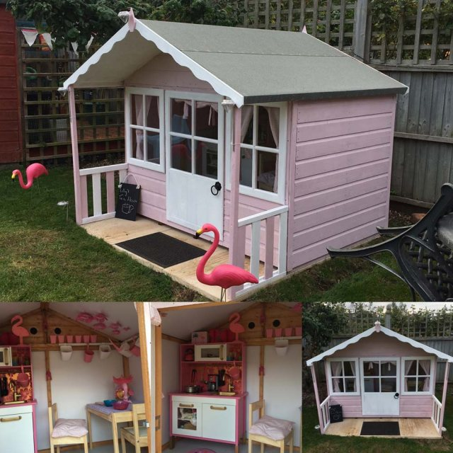 Shire Pixie Playhouse with interiro shots
