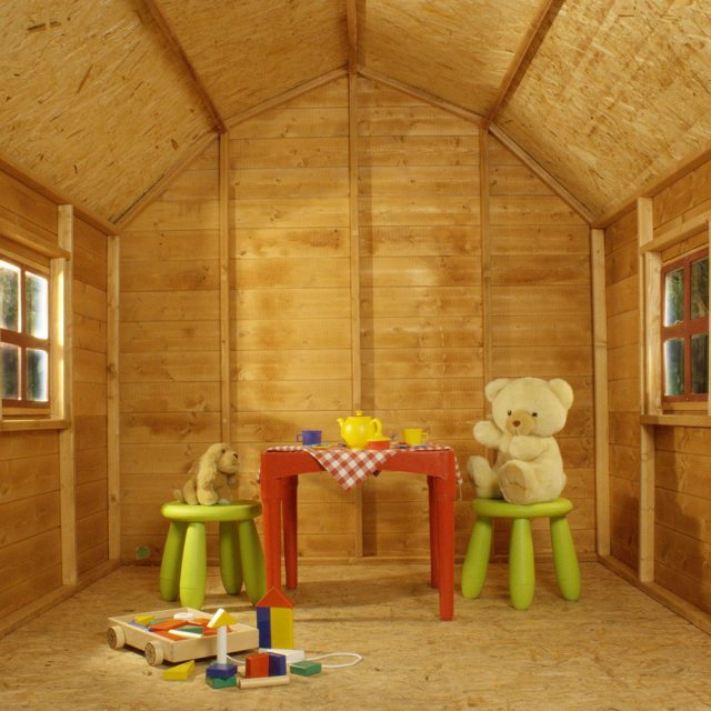 Mercia 6 x 6 (1.90m x 1.80m) Mercia Dutch Barn Playhouse