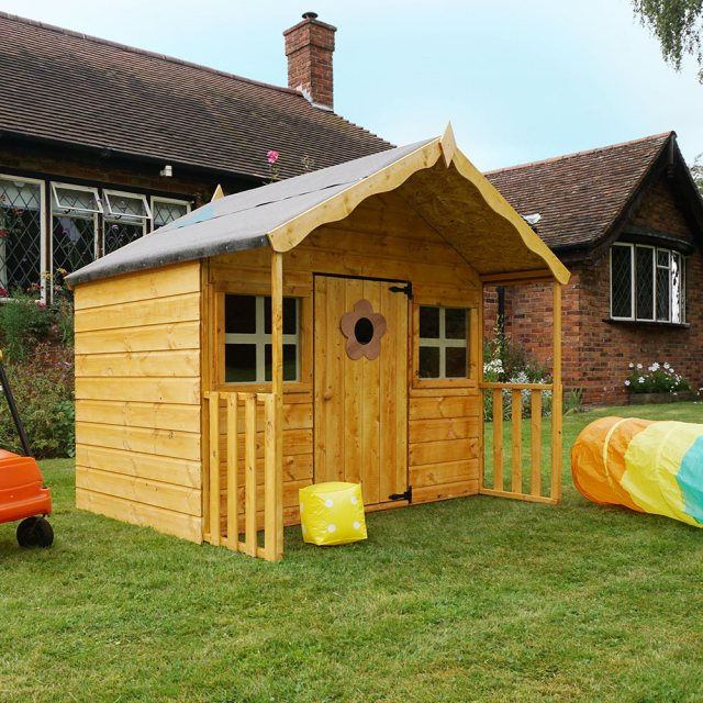 Mercia 6 x 5 (1.80m x 1.70m) Mercia Honeysuckle Playhouse