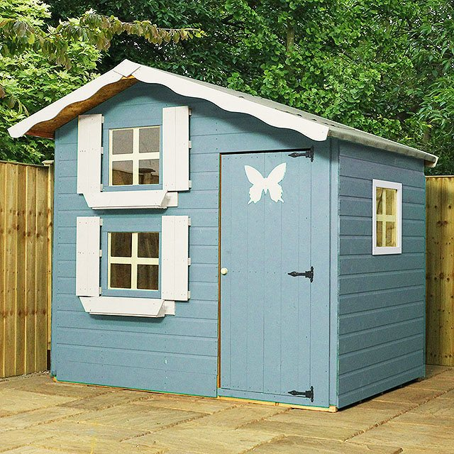 Mercia 7 x 5 (2.13m x 1.49m) Mercia Double Storey Playhouse
