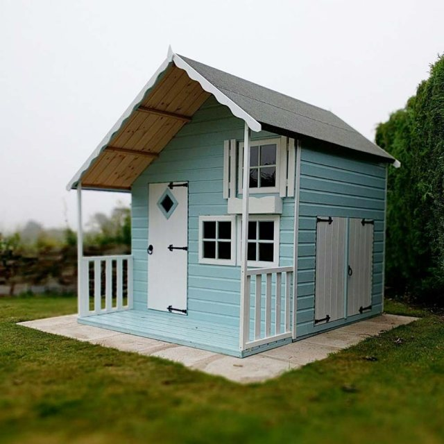 Shire Crib Playhouse with Integral Garage - Customer images
