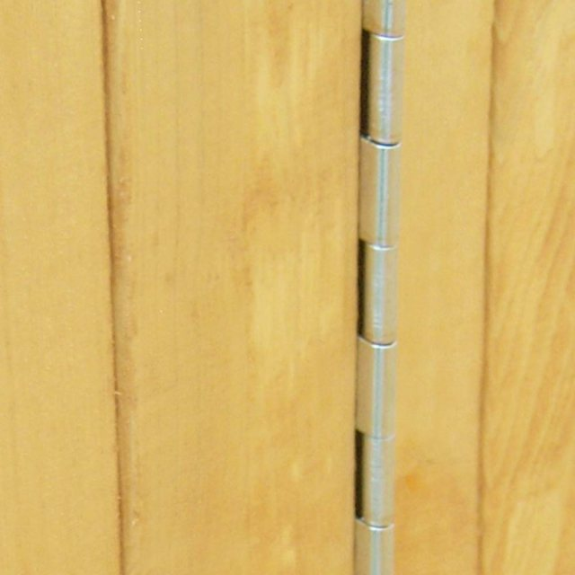 Shire Den Playhouse - Piano door hinge for safety