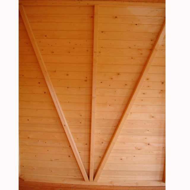 Shire Mammoth Professional Apex Shed - interior wall