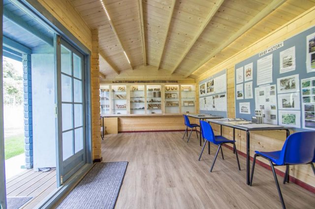26 x 14 Shire Elveden Log Cabin - Used a visitor centre - Interior