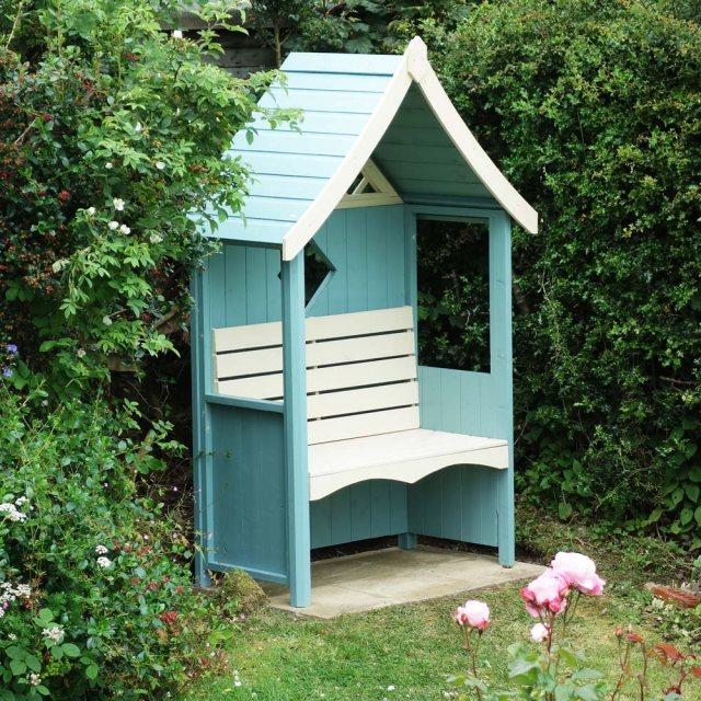 Shire Arum Arbour - painted blue