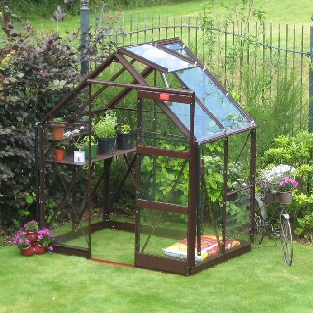 "Elite 6'3"" (1.90m) Wide Elite Craftsman Colour Greenhouse Range"