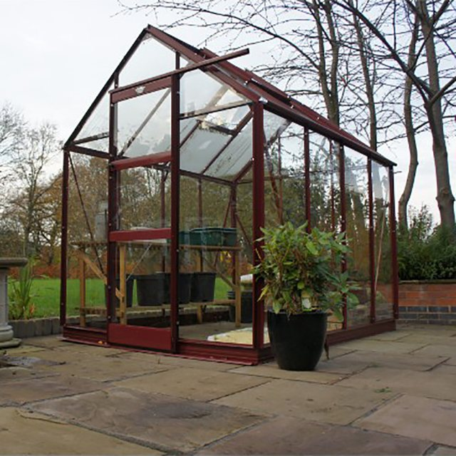"6'3"" (1.90m) Wide Elite High Eave Colour Greenhouse Range"