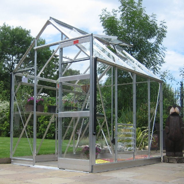"6'3"" (1.90m) Wide Elite High Eave Aluminium Greenhouse PACKAGE Range"