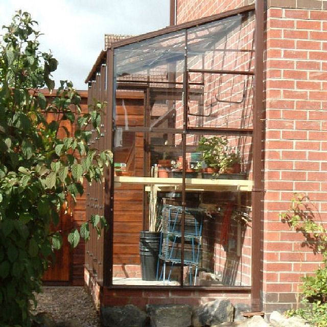 Kensington 4 Colour Lean To Greenhouse Range