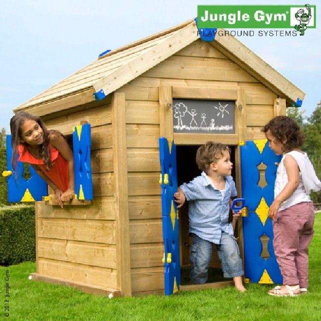 Jungle Gym Jungle Gym Grow With Me Playhouse with Optional Tower(s)