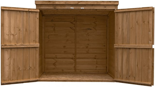 5x3 Mercia Shiplap Pent Mower Store - Pressure Treated
