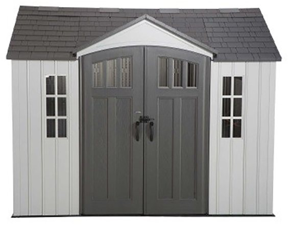 10 x 8 Lifetime Plastic Shed with Single Entry