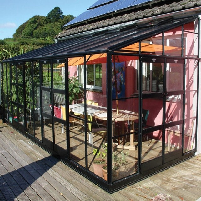 Kensington 8 Colour Lean To Greenhouse Range (Titan Frame)