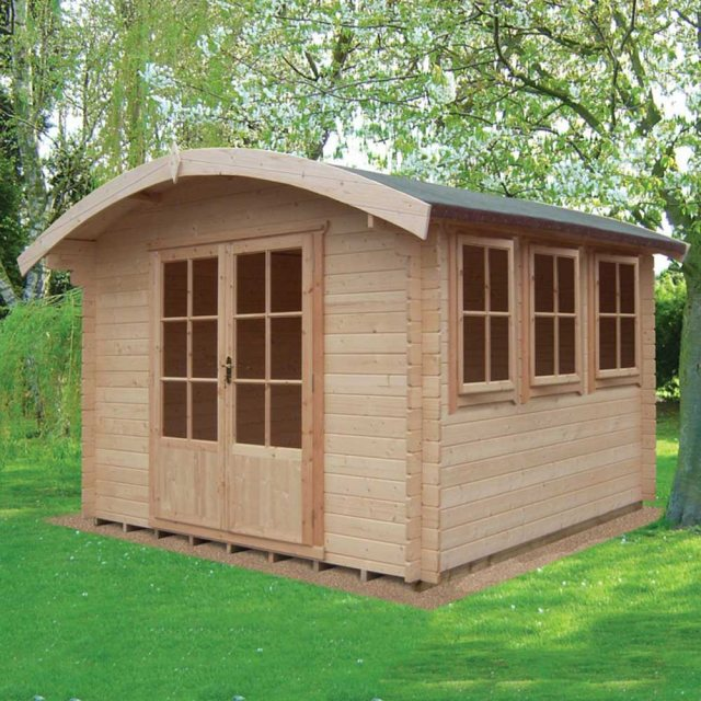 10 x 12 Shire Kilburn Log Cabin